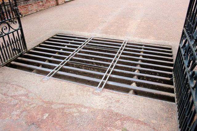 Adapted Cattle Grid Hanbury Hall