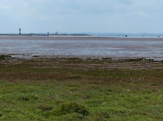 View across Kilnsea Clays to Spurn Head