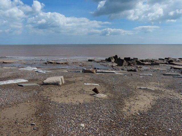Beach at the Spurn National Nature Reserve