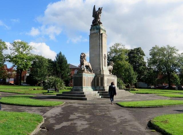 War memorial in Ashton-under-Lyne