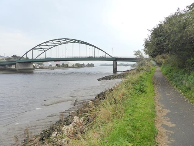 Scotswood Bridge and the Keelman's Way