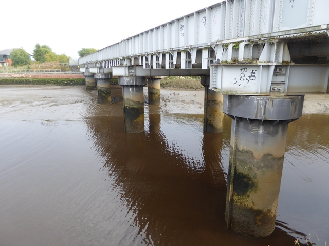 Railway bridge over the River Derwent
