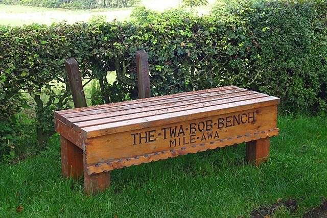 The Twa Bob Bench