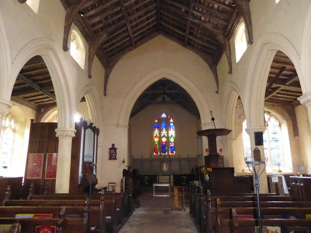 St Peter, Reymerston: nave