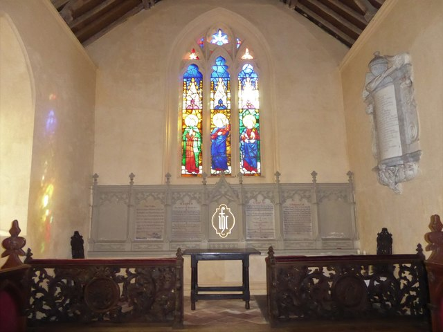 St Peter, Reymerston: sanctuary