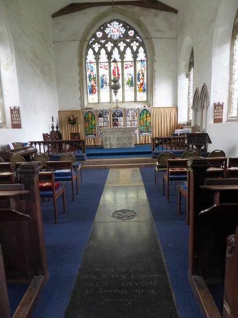 Inside SS Peter & Paul, Carbrooke (b)