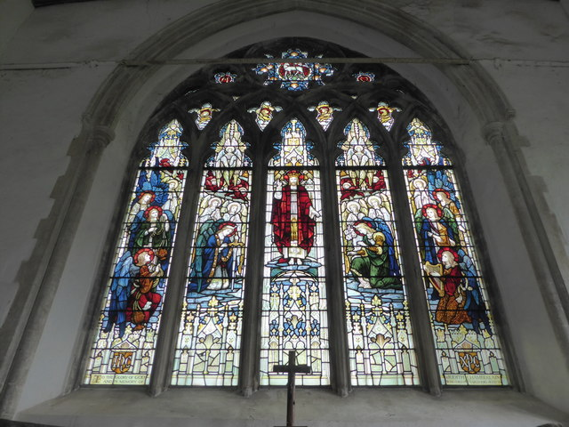 SS Peter & Paul, Carbrooke: altar window