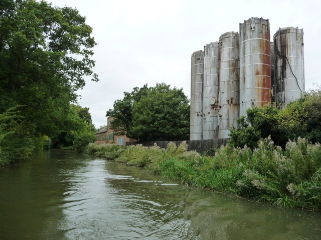 Storage tanks at a former glue factory, Gallows Hill