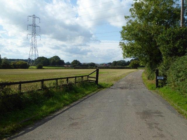 Private drive to Stoneybridge Farm