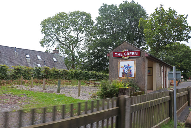 Ravenglass & eskdale Railway - The Green Station