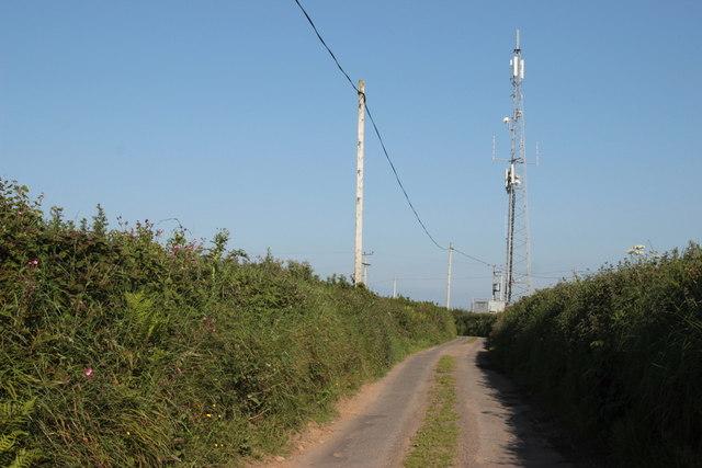Radio Mast near Pitt