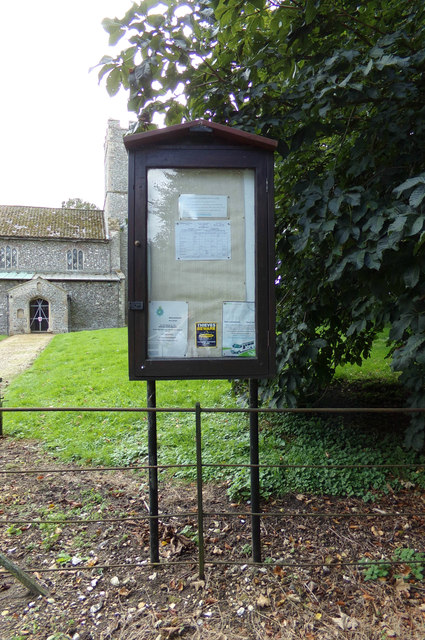 St George's Church Notice Board