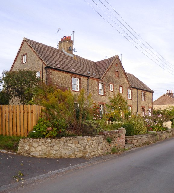 Stone-built cottages at Well Street