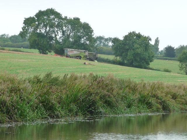 Farm machinery, south of Langton Farm, Foxton