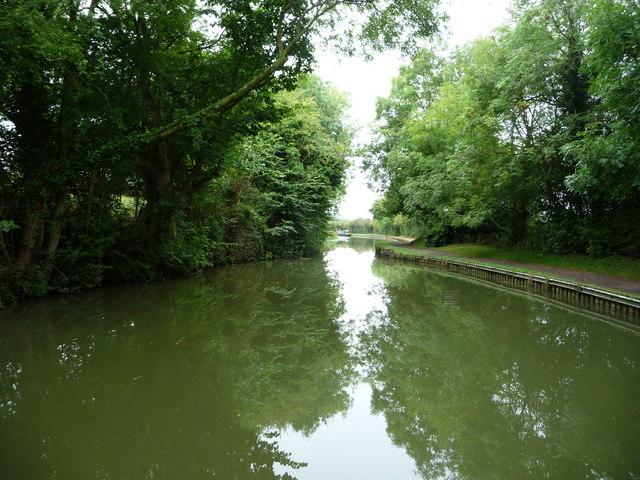 Site of a former bridge, Market Harborough Arm