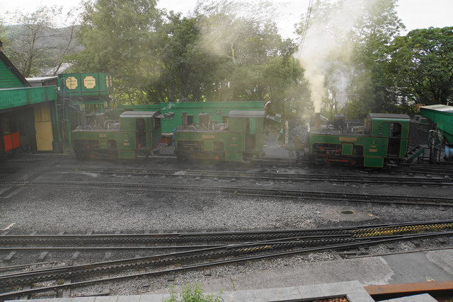 Locomotives at Llanberis
