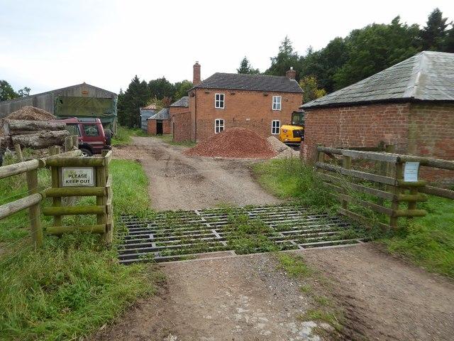Entrance to Westfield Farm
