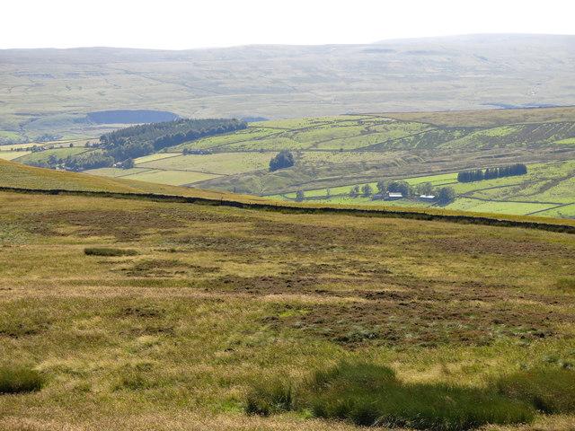 Monk's Moor above Brown Dodd