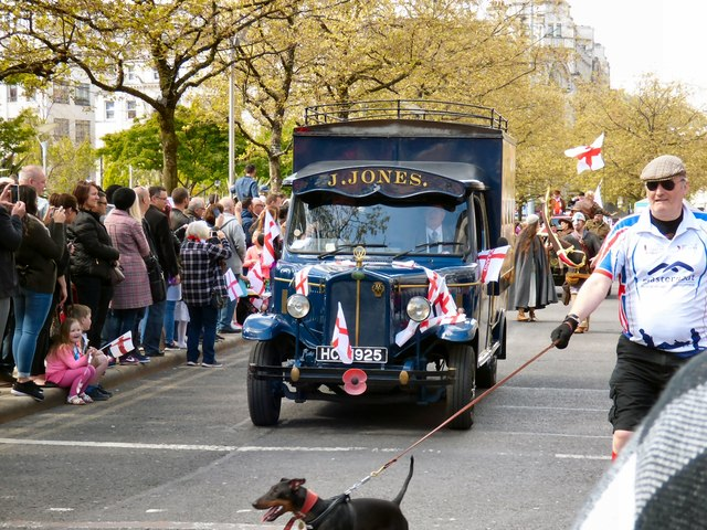 St George's Day Parade 2017: J Jones's Van