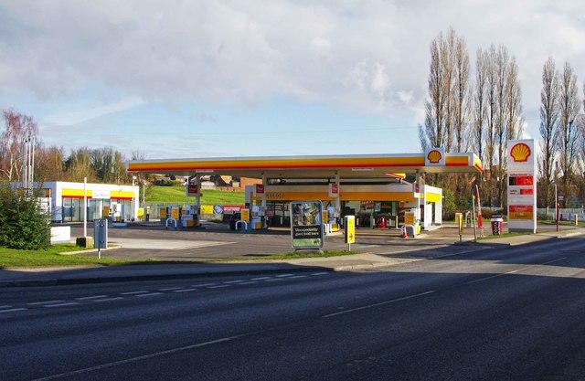 Shell Filling Station, Bondgate, Pontefract