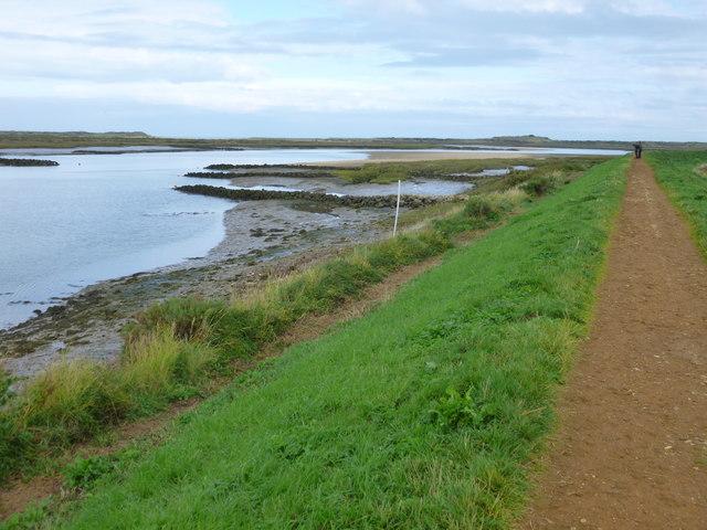 Coastal path near Burnham Overy Staithe