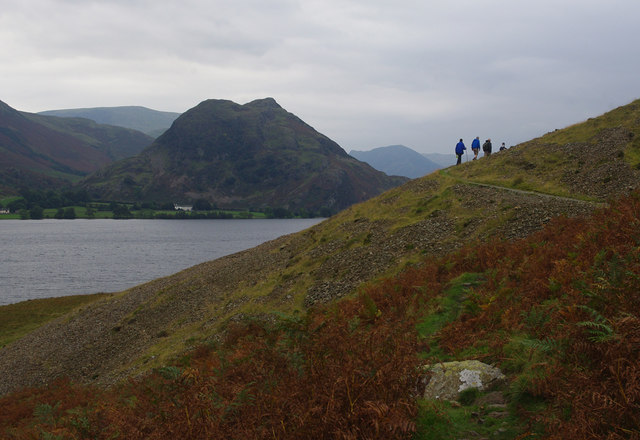 Path on west side of Crummock Water