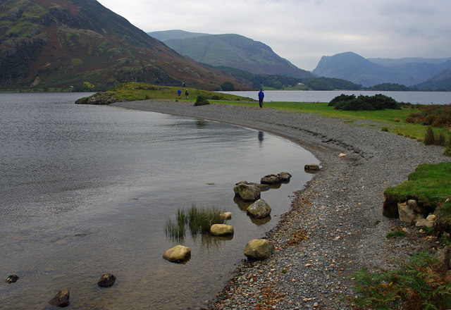 Low Ling Crag, Crummock Water