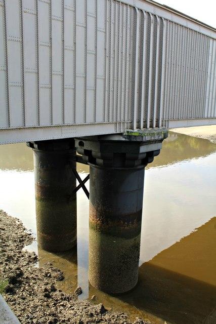 Supports to Stephenson's Tubular bridge
