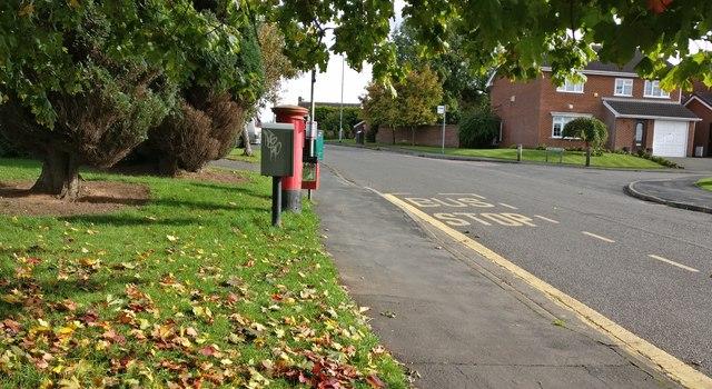 Elm Tree Avenue in Glenfield