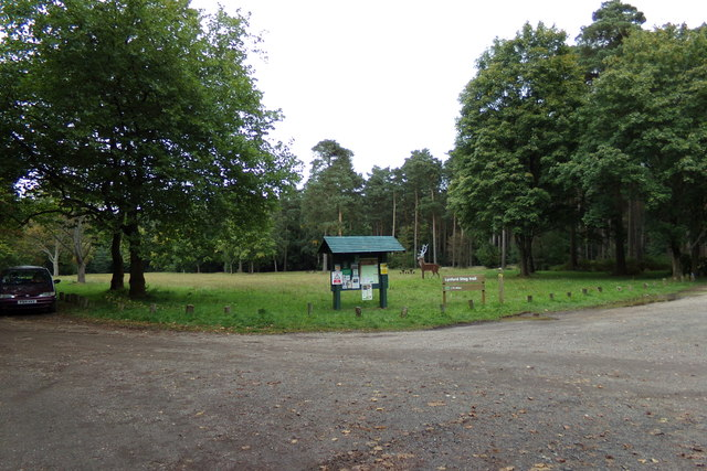 Entrance to Lyndford Stag Picnic Site