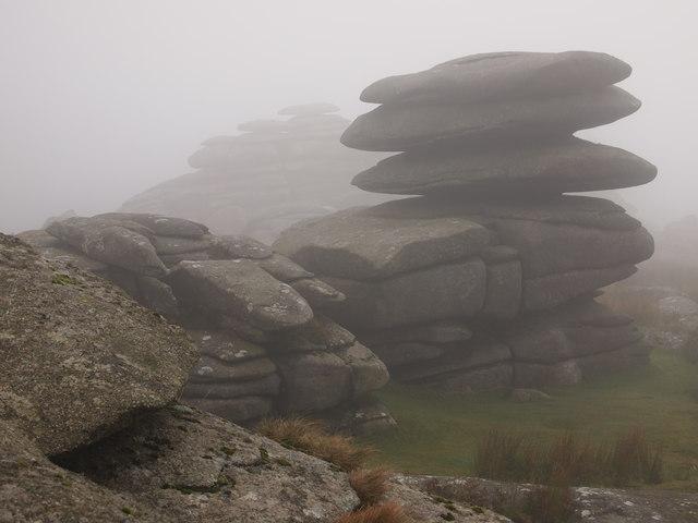 Mist on Rough Tor