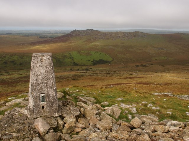 Trig Point, Brown Willy