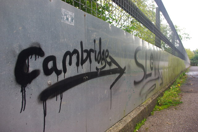 This way to Cambridge