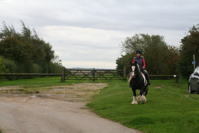Bridleway on Mealand Hill (1)