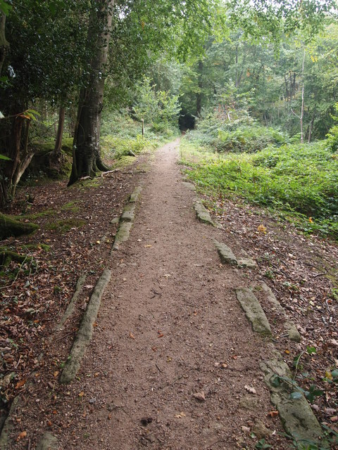 Granite Tramway Near Bovey Tracey