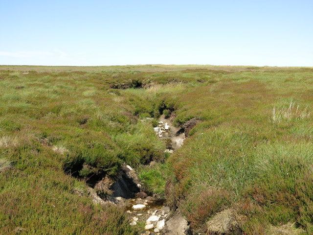 Drain on Monk's Moor above Raven Hills