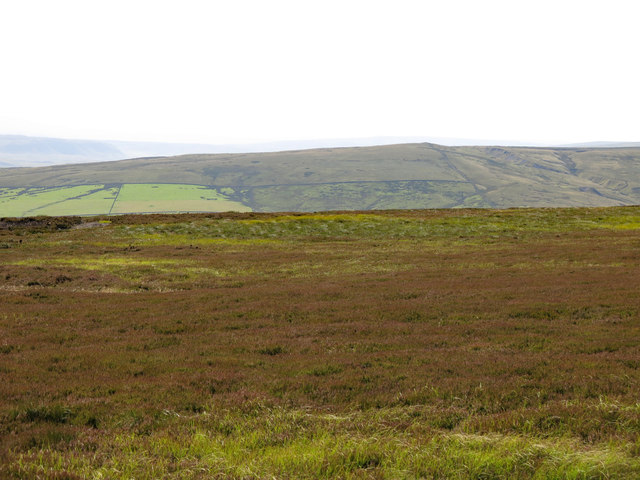 Monk's Moor above the valley of Huddeshope Beck