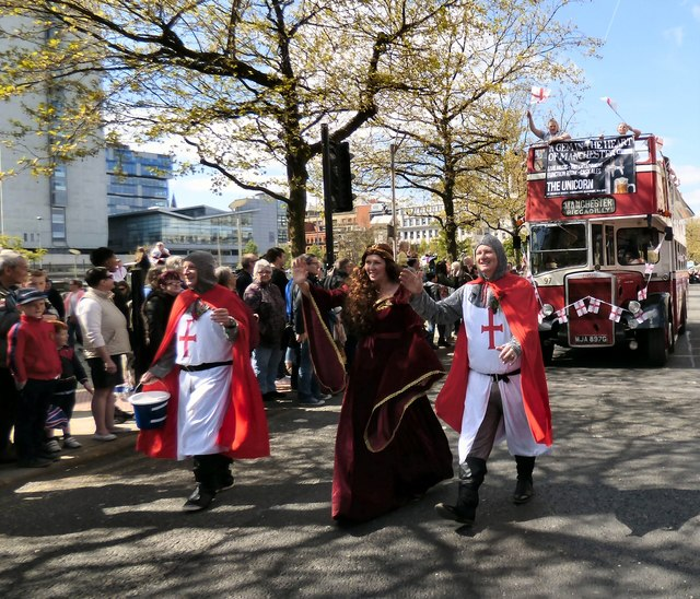 St George's Day Parade 2017