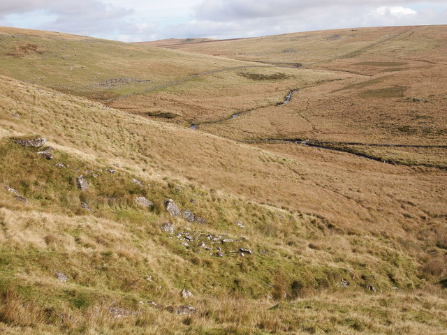 The Valley of the West Dart River