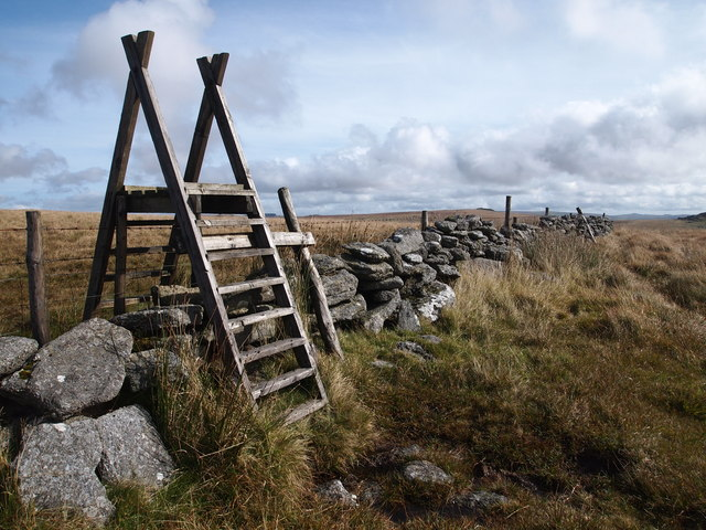 Stile and Boundary, Lydford Tor