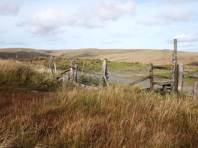 Stile On The Edge Of The Moor