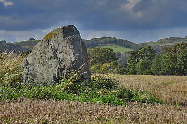 Inchmartine Standing Stone (2)