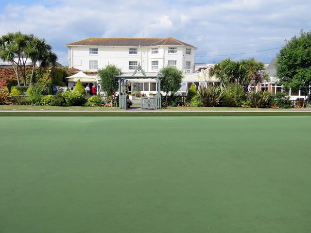 Bowling green at Norton Grange