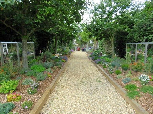 Garden path at Norton Grange