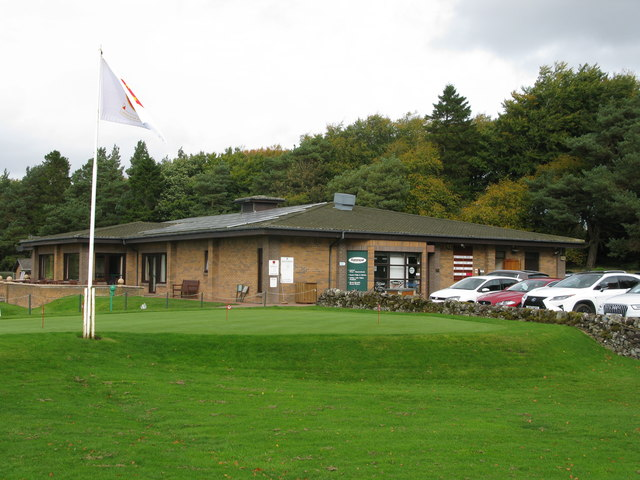 West Linton Golf Course - Clubhouse