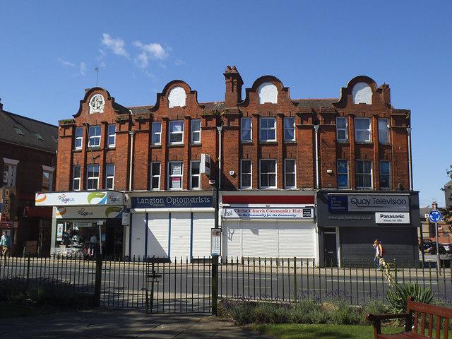 Shops on Prospect Street, Bridlington