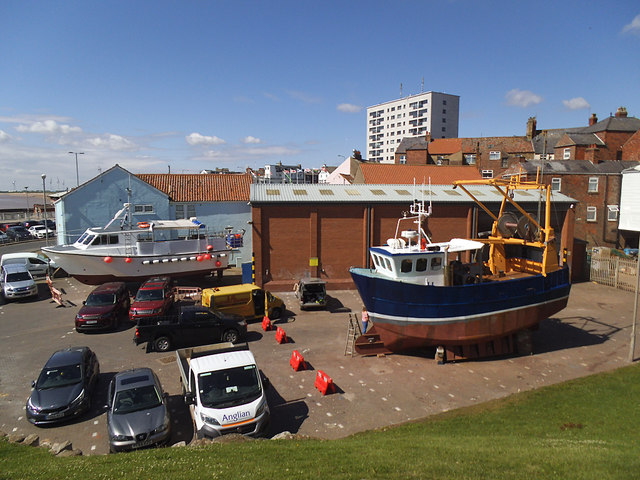 Bridlington boatyard