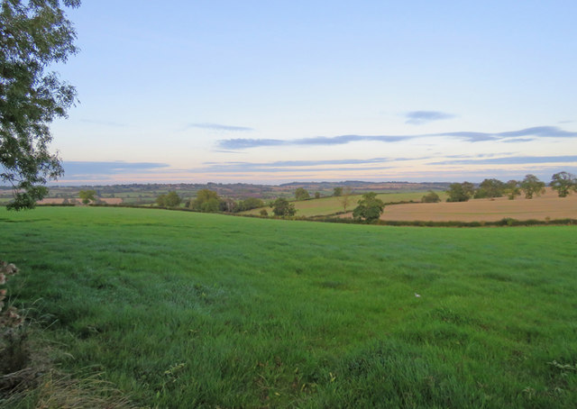 Across the fields towards Burrough on the Hill