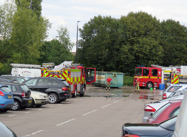 The Fire Fighters Charity car wash