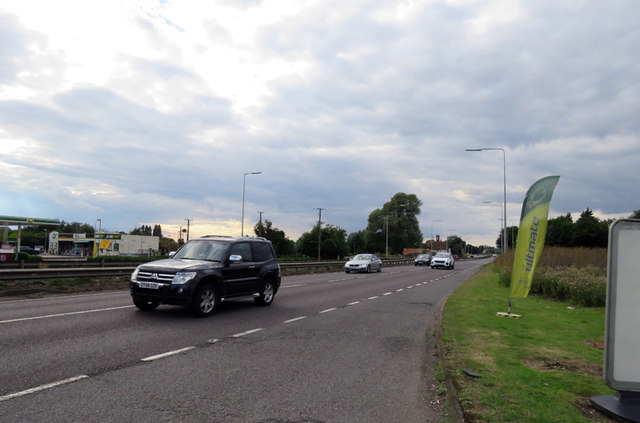 A1 from the north near Stotfield
